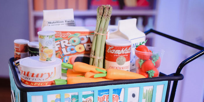 Dainty Supermarket Birthday Party on Kara's Party Ideas | KarasPartyIdeas.com (1)
