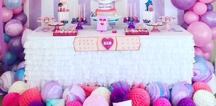 Doc McStuffins Birthday Party on Kara's Party Ideas | KarasPartyIdeas.com (1)