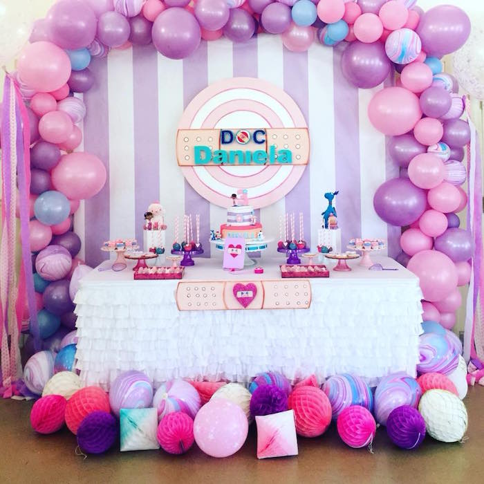 Doc McStuffins Birthday Party on Kara's Party Ideas | KarasPartyIdeas.com (9)
