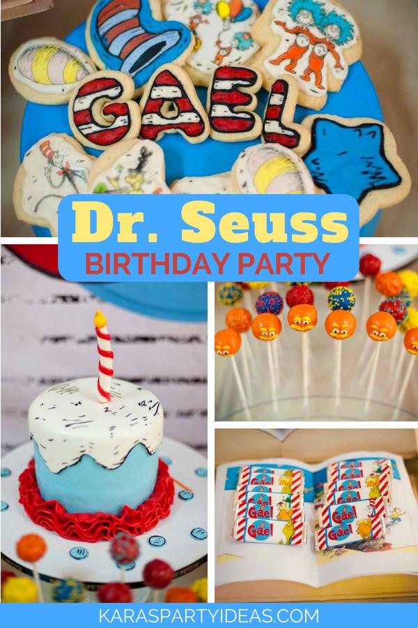 Karas Party Ideas Dr Seuss Birthday Party Karas Party Ideas