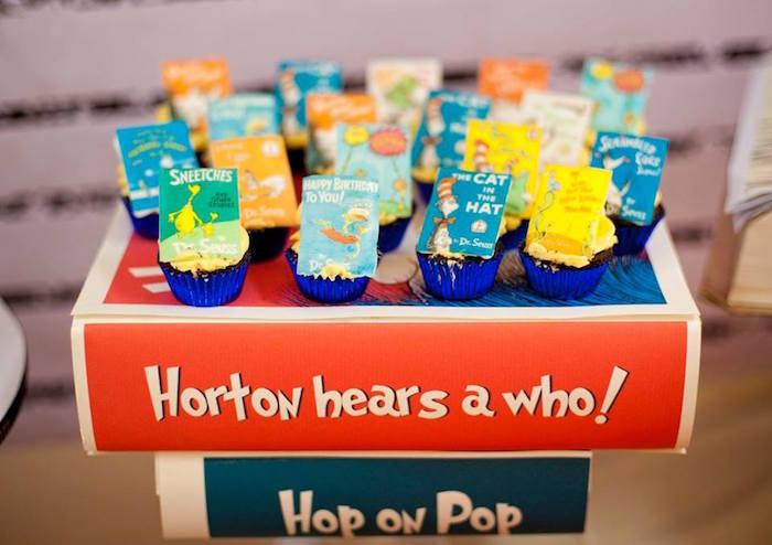 Dr. Seuss Birthday Party on Kara's Party Ideas | KarasPartyIdeas.com (17)