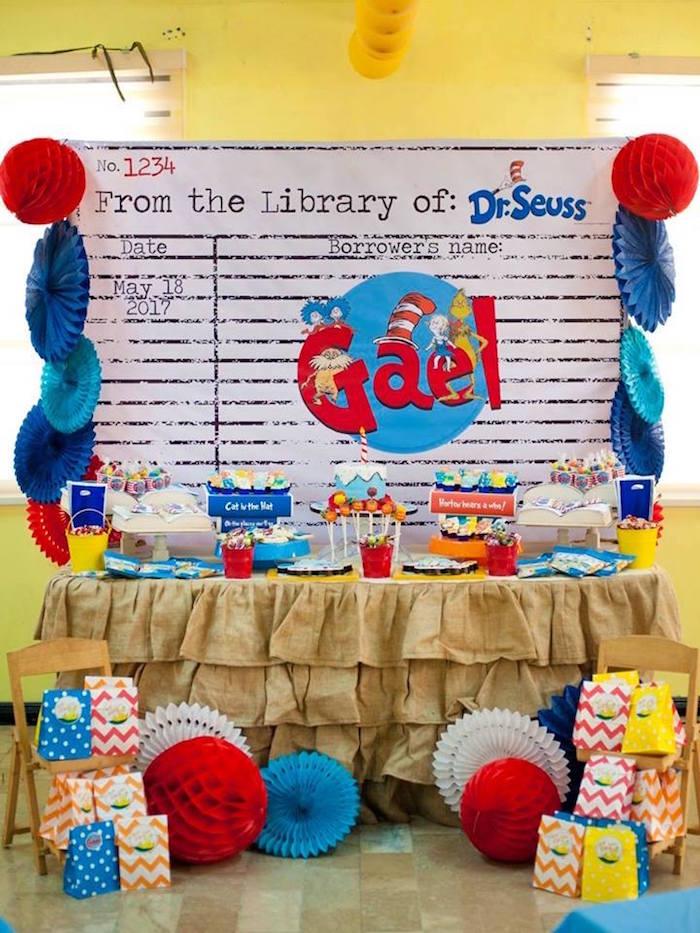 Dr. Seuss Birthday Party on Kara's Party Ideas | KarasPartyIdeas.com (16)