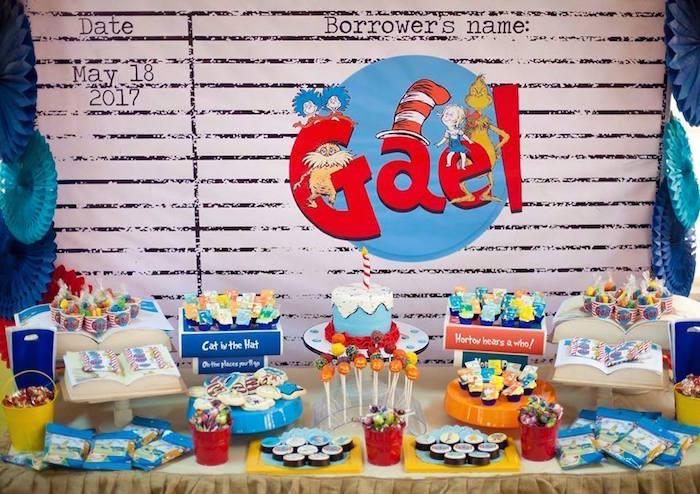 Dr. Seuss Birthday Party on Kara's Party Ideas | KarasPartyIdeas.com (14)