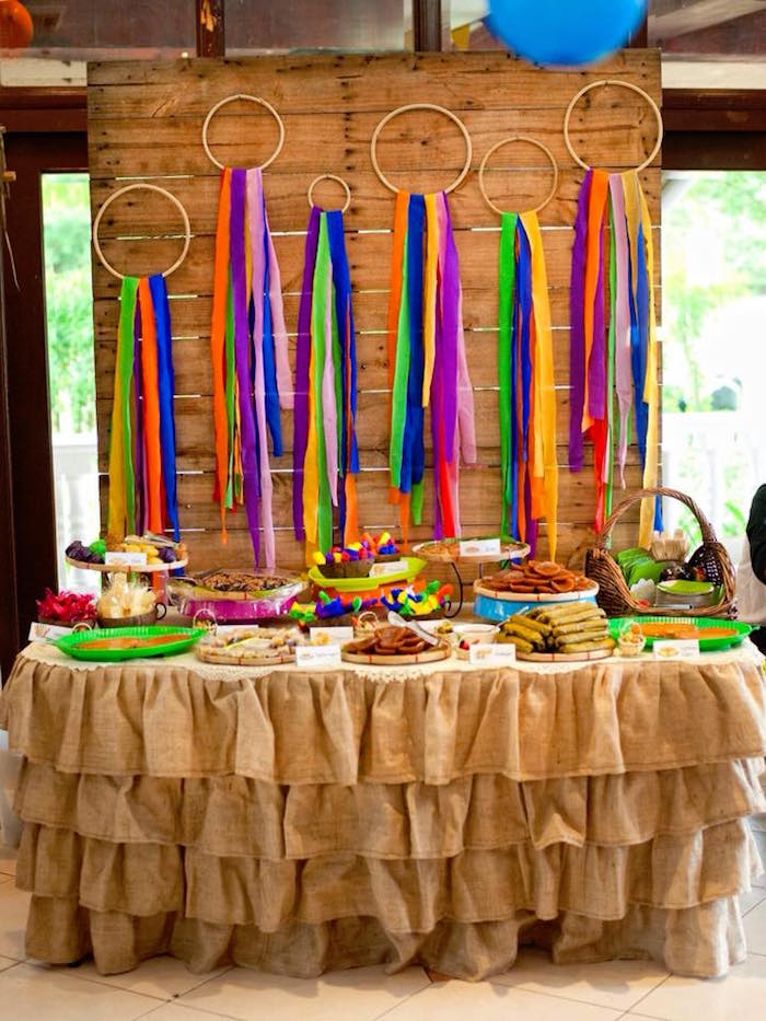 "Filipino Festival ""Pistahan"" Inspired Birthday Party on Kara's Party Ideas 