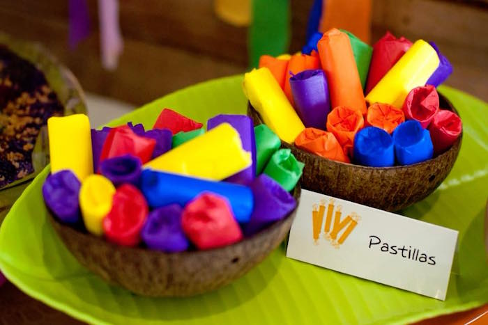 "Pastillas from a Filipino Festival ""Pistahan"" Inspired Birthday Party on Kara's Party Ideas 
