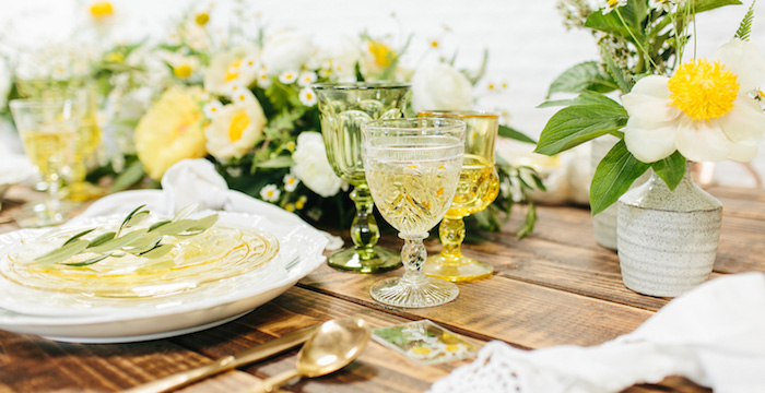 Garden Chamomile Bridal Shower Tea Party on Kara's Party Ideas   KarasPartyIdeas.com (2)