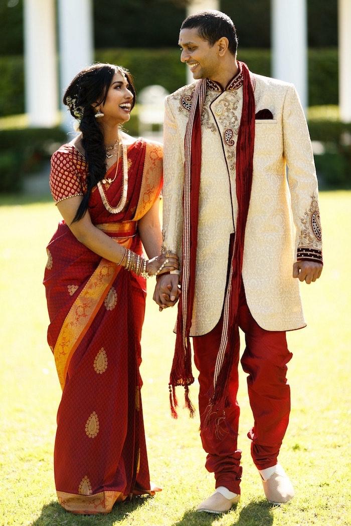 Traditional Hindu Dress + Attire from a Hindu Wedding on Kara's Party Ideas | KarasPartyIdeas.com (9)
