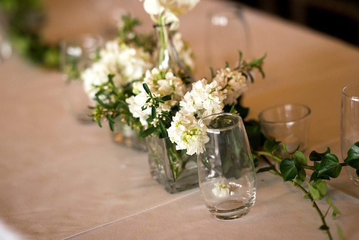 Guest Table Florals from a Hindu Wedding on Kara's Party Ideas | KarasPartyIdeas.com (4)