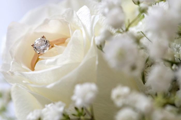 Gold Diamond Wedding Ring from a Hindu Wedding on Kara's Party Ideas | KarasPartyIdeas.com (20)