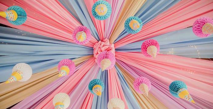 Ice Cream Shoppe Birthday Party on Kara's Party Ideas | KarasPartyIdeas.com (2)