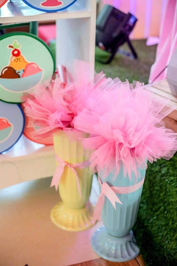 Ice Cream Shoppe Birthday Party on Kara's Party Ideas | KarasPartyIdeas.com (22)