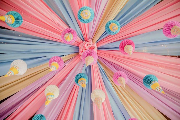 Ice Cream Shoppe Birthday Party on Kara's Party Ideas | KarasPartyIdeas.com (18)