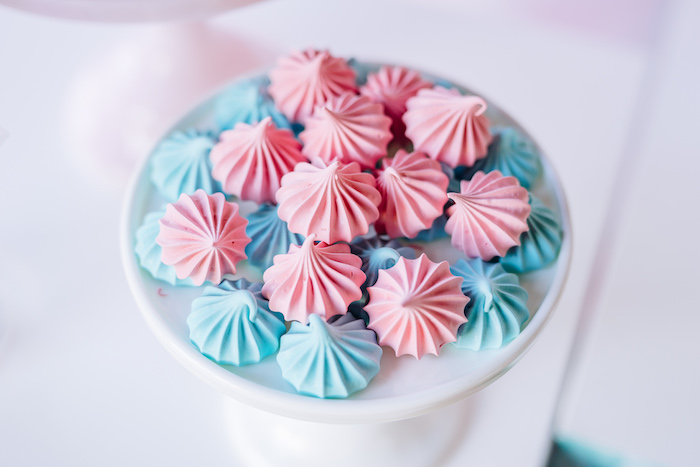 Meringue Cookies from an L.O.L. Surprise Disco Party on Kara's Party Ideas | KarasPartyIdeas.com (13)