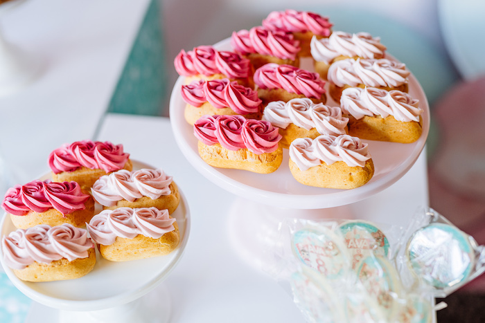 Eclairs from an L.O.L. Surprise Disco Party on Kara's Party Ideas | KarasPartyIdeas.com (18)
