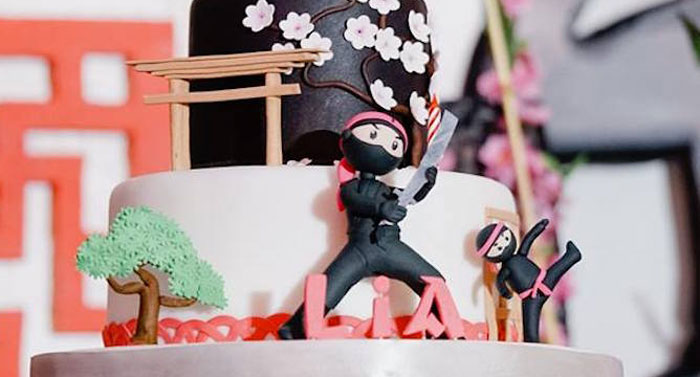 Little Ninja Birthday Party on Kara's Party Ideas | KarasPartyIdeas.com (2)