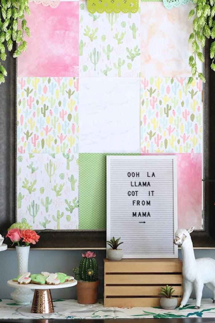 Kara S Party Ideas Llama Amp Cactus Baby Shower Kara S Party Ideas