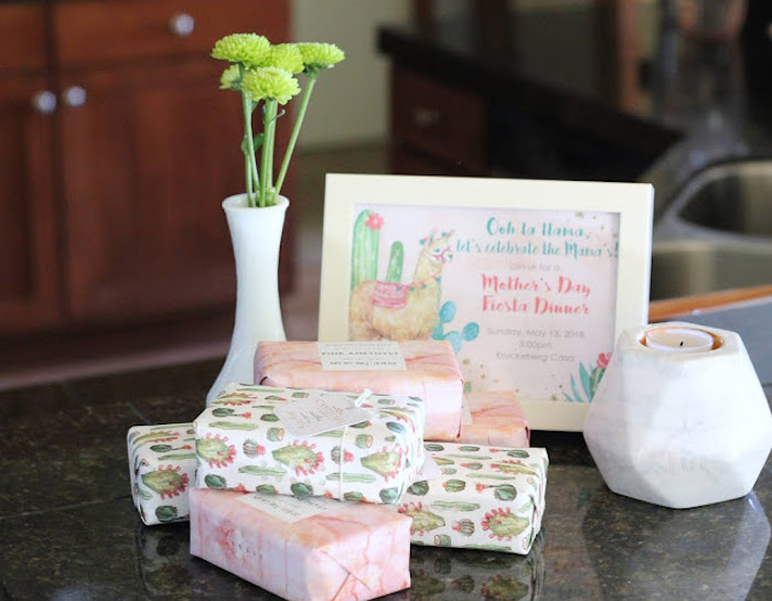 Luxury Soap Favors from a Llama & Cactus Birthday Fiesta on Kara's Party Ideas | KarasPartyIdeas.com (7)