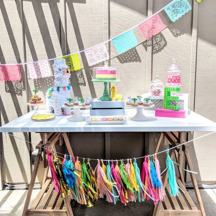 Llama & Cactus Birthday Party on Kara's Party Ideas | KarasPartyIdeas.com (13)