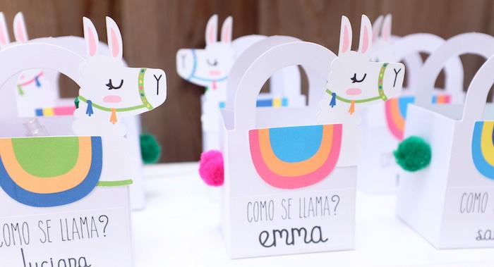 Llama & Cactus Birthday Party on Kara's Party Ideas | KarasPartyIdeas.com (5)