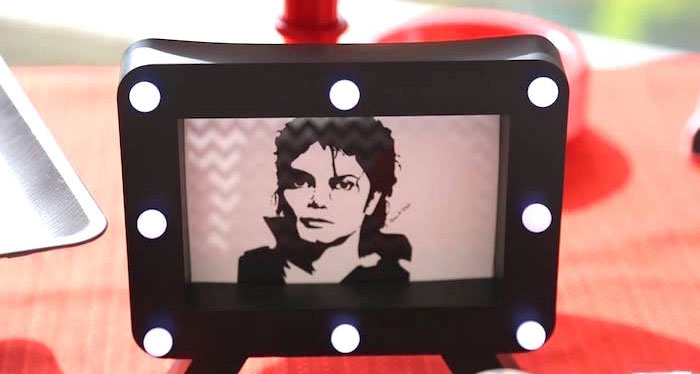 Michael Jackson Birthday Party on Kara's Party Ideas | KarasPartyIdeas.com (3)