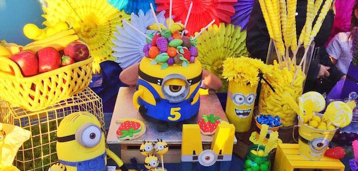 Minions Birthday Party on Kara's Party Ideas | KarasPartyIdeas.com (2)