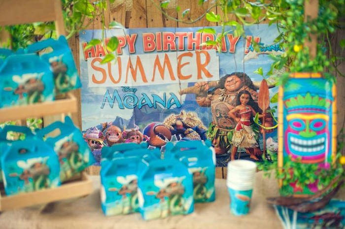 Moana Gable Favor Boxes from a Moana Inspired Birthday Luau on Kara's Party Ideas | KarasPartyIdeas.com (13)