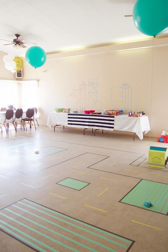 Modern Car Birthday Party on Kara's Party Ideas | KarasPartyIdeas.com (7)