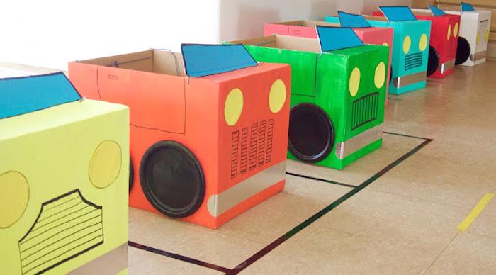 Modern Car Birthday Party on Kara's Party Ideas | KarasPartyIdeas.com (1)