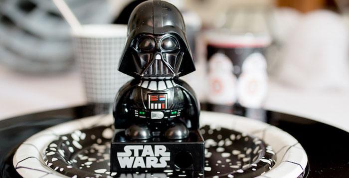 Monochromatic Star Wars Birthday Party on Kara's Party Ideas | KarasPartyIdeas.com (3)
