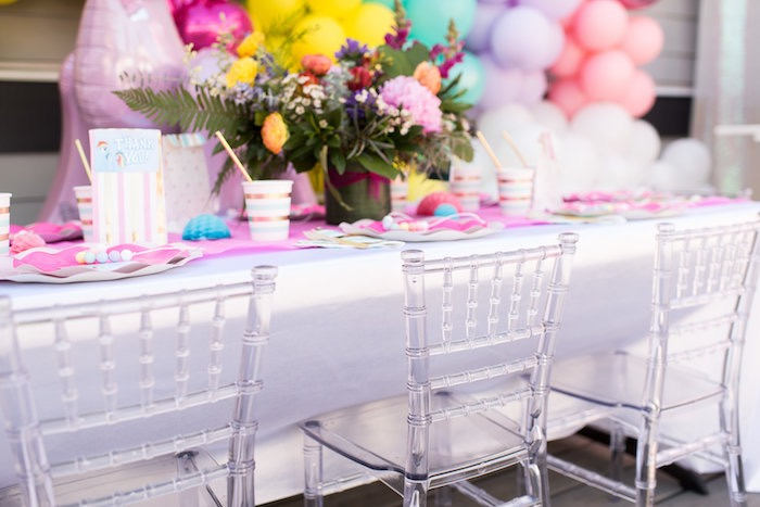 Guest Tablescape from a My Little Pony Birthday Party on Kara's Party Ideas | KarasPartyIdeas.com (9)