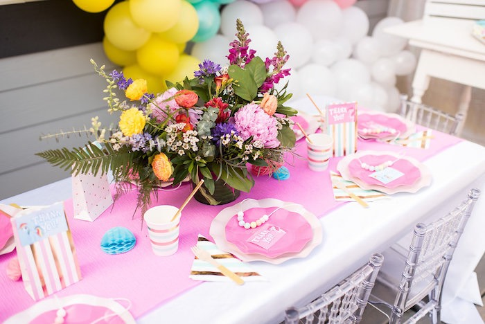 My Little Pony Party Table from a My Little Pony Birthday Party on Kara's Party Ideas | KarasPartyIdeas.com (25)