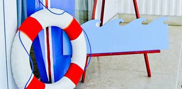 Nautical Birthday Party on Kara's Party Ideas | KarasPartyIdeas.com (1)