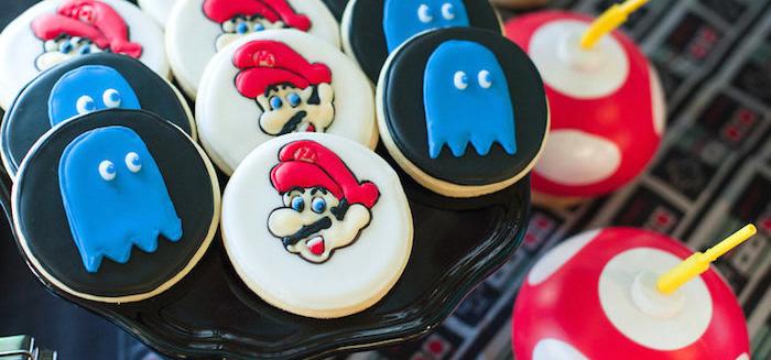 Nintendo Super Mario Baby Shower on Kara's Party Ideas | KarasPartyIdeas.com (4)