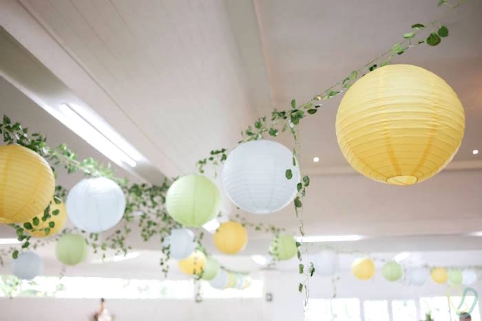 Paper Lantern Garlands from an Off-Road Adventure Birthday Party on Kara's Party Ideas | KarasPartyIdeas.com (12)