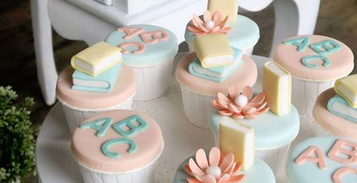 Pastel Book Themed 1st Birthday Party on Kara's Party Ideas | KarasPartyIdeas.com (2)