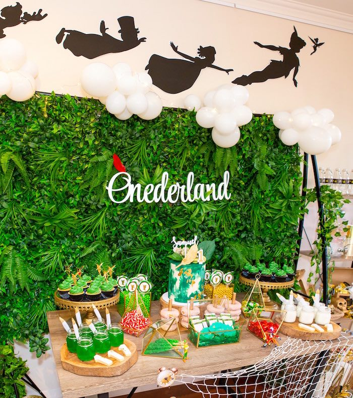 Peter Pan in Neverland First Birthday Party on Kara's Party Ideas | KarasPartyIdeas.com (43)
