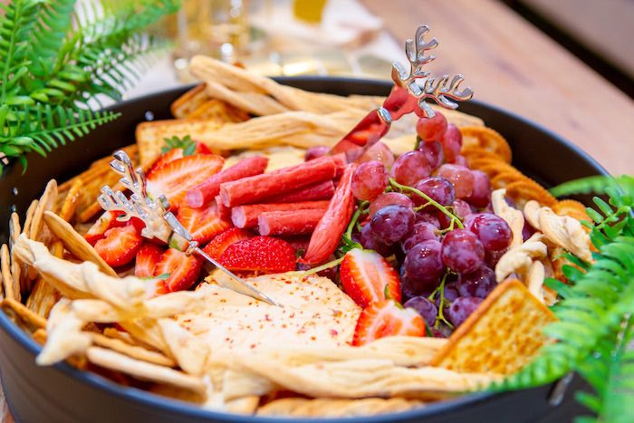 Charcuterie Plate from a Peter Pan in Neverland First Birthday Party on Kara's Party Ideas | KarasPartyIdeas.com (13)