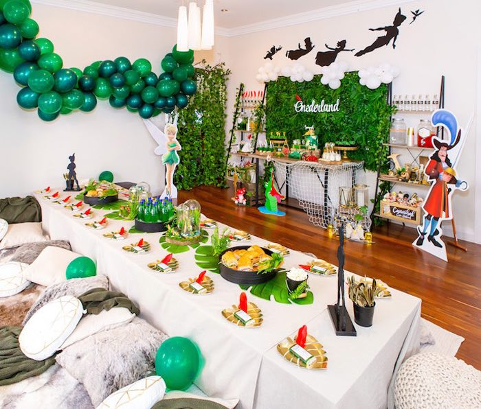 Peter Pan in Neverland First Birthday Party on Kara's Party Ideas | KarasPartyIdeas.com (41)
