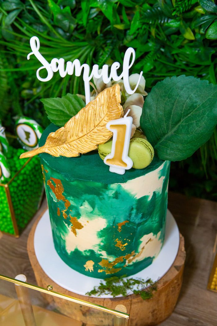 Peter Pan Themed Birthday Party from a Peter Pan in Neverland First Birthday Party on Kara's Party Ideas | KarasPartyIdeas.com (36)