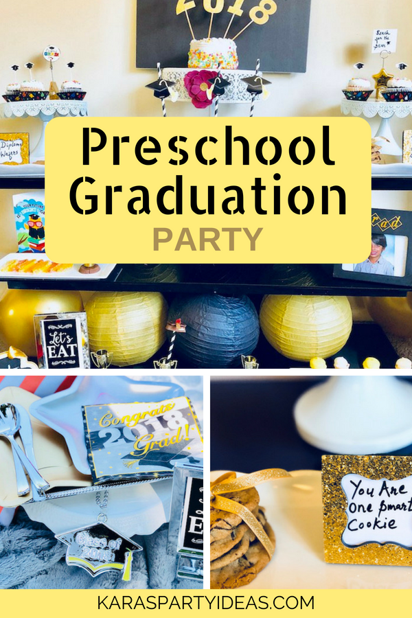 Preschool Graduation Party via Kara_s Party Ideas - KarasPartyIdeas.com