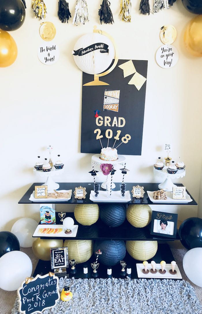 Preschool Graduation Party on Kara's Party Ideas | KarasPartyIdeas.com (6)