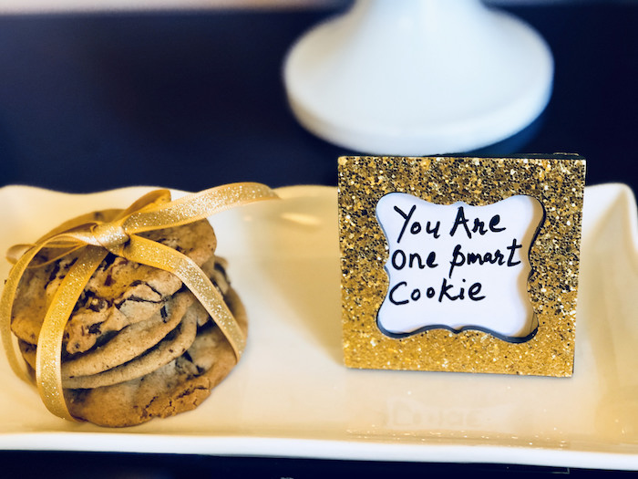 You Are One Smart Cookie Platter from a Preschool Graduation Party on Kara's Party Ideas | KarasPartyIdeas.com (4)