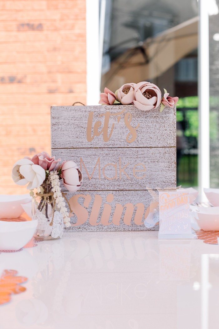 Wood Signage from a Rose Gold & Blush Pink Unicorn Party on Kara's Party Ideas | KarasPartyIdeas.com (14)