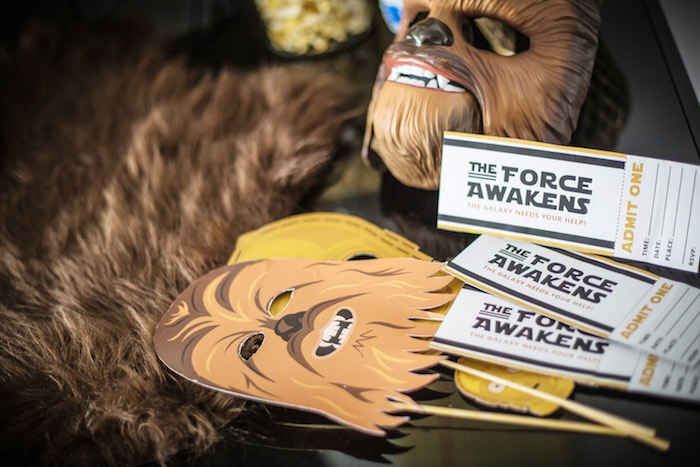 Star Wars Themed Photo Props from a Star Wars Birthday Party on Kara's Party Ideas | KarasPartyIdeas.com (14)