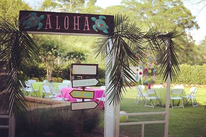 Kara's Party Ideas Sweet 16 Luau | Kara's Party Ideas