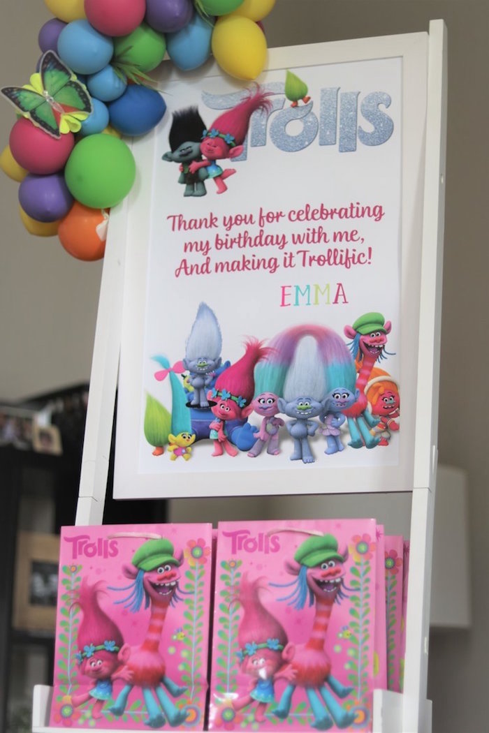 Troll Party Favors from a Trolls Birthday Party on Kara's Party Ideas | KarasPartyIdeas.com (9)