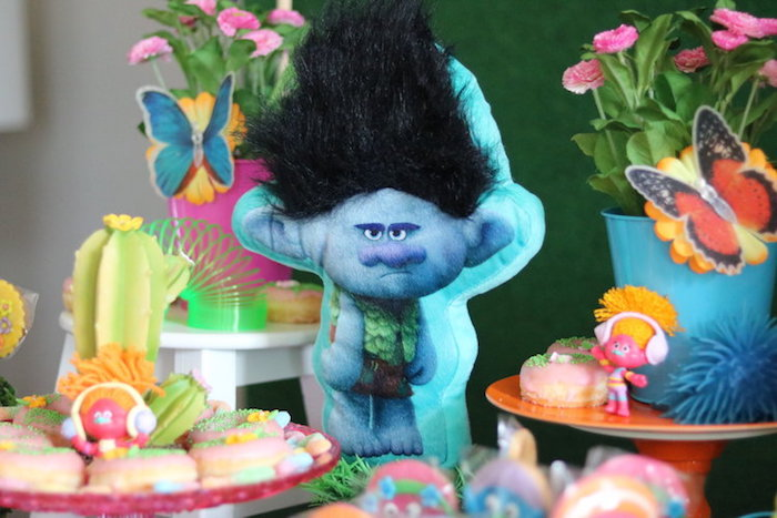 Branch from a Trolls Birthday Party on Kara's Party Ideas | KarasPartyIdeas.com (19)