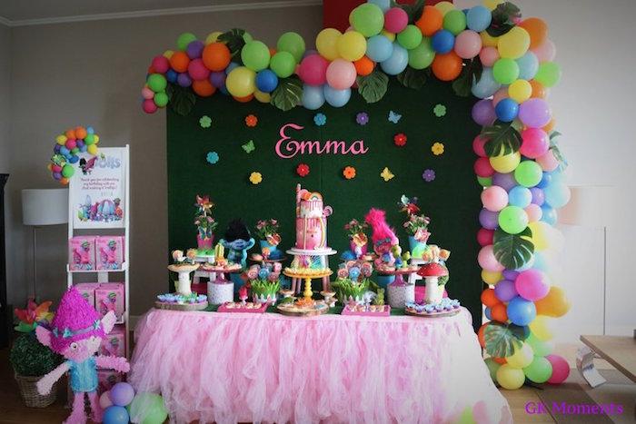 Trolls Birthday Party on Kara's Party Ideas | KarasPartyIdeas.com (18)