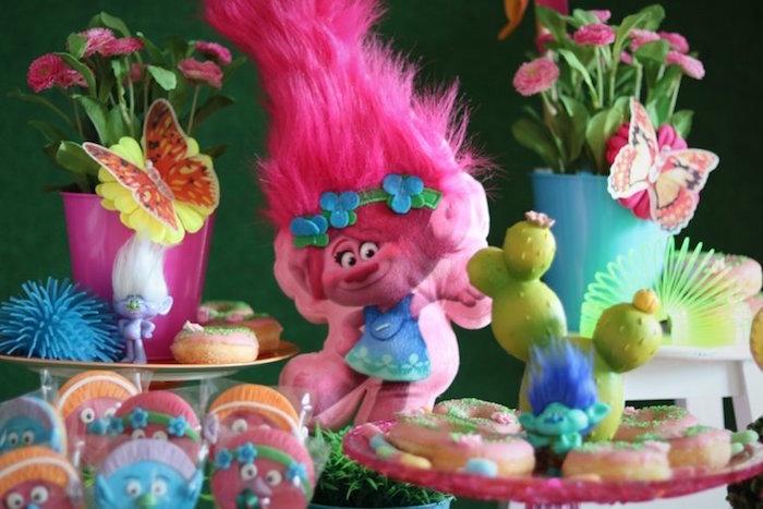 Poppy from a Trolls Birthday Party on Kara's Party Ideas | KarasPartyIdeas.com (16)