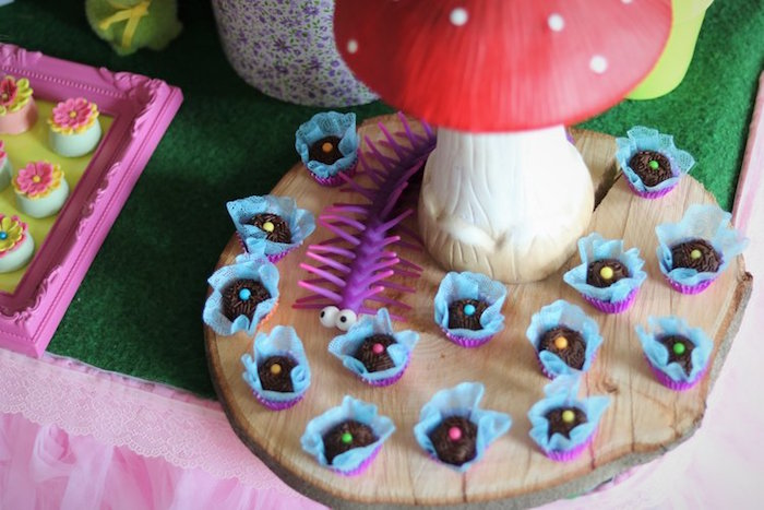 Flower Sweets from a Trolls Birthday Party on Kara's Party Ideas | KarasPartyIdeas.com (14)